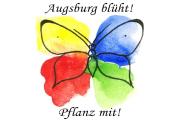 Augsburg blüht - Cover Samentüte